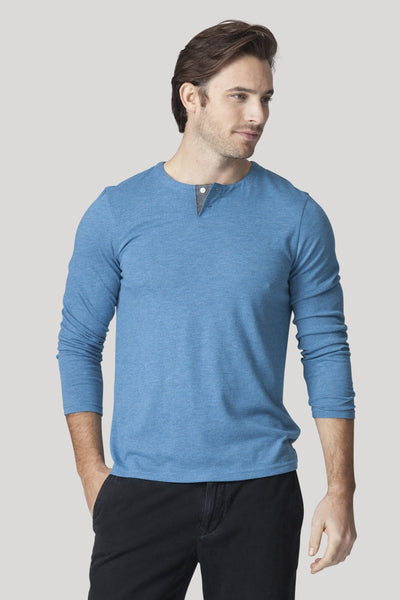 Hachiko Henley - Heather Blue Smoke