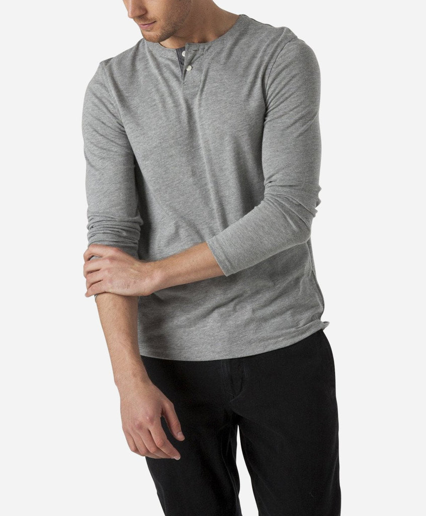 Hachiko Henley - Heather Grey