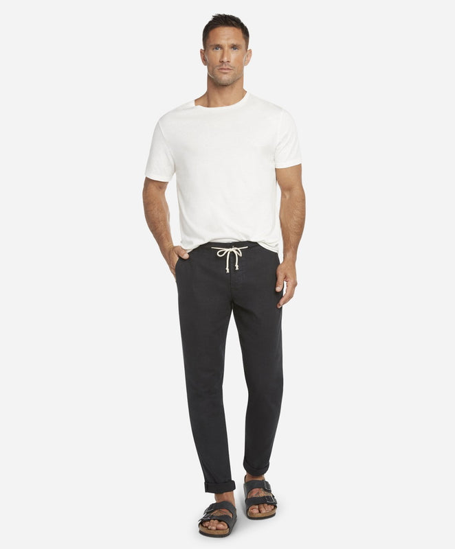 Harbor Linen Pant - Black