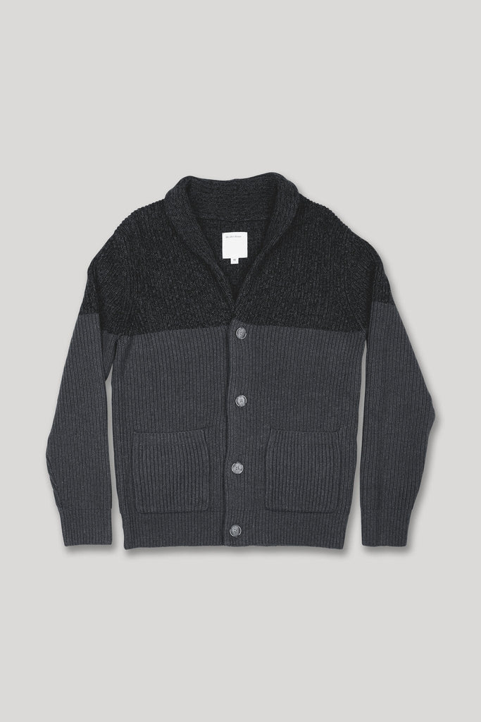 Holland Cardigan - Heather Charcoal