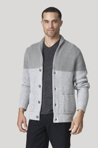 Holland Cardigan - Heather Grey