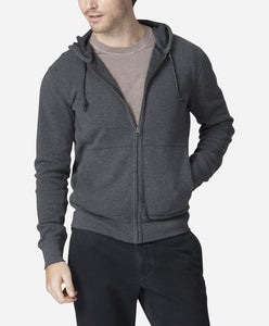 Holmen Hoodie - Heather Charcoal