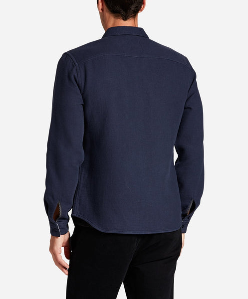 Hudson Valley Shirt Jacket - Blue Blood