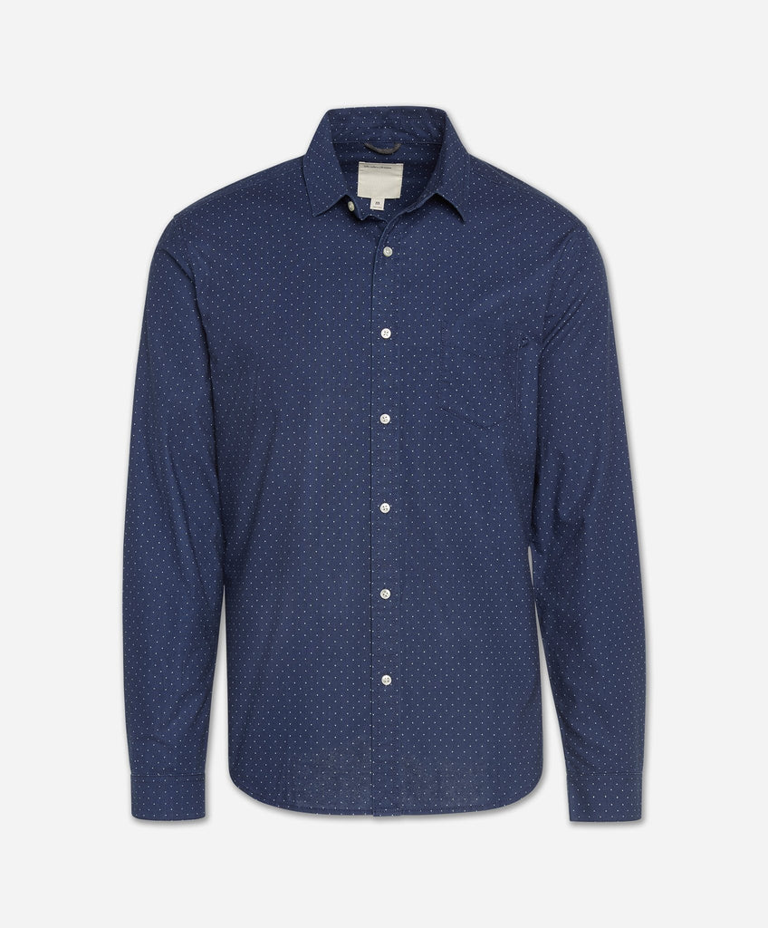 Interpoint Shirt - Indigo
