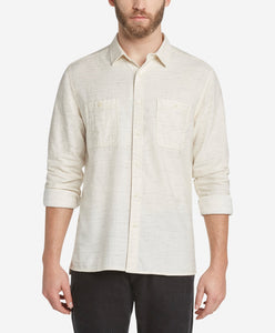 Kelvingrove Twill Shirt - Irish Cream