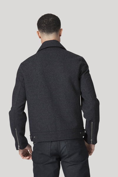 Brando Jacket - Heather Charcoal
