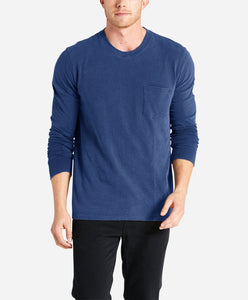Long Sleeve Club Crew - Yale Blue