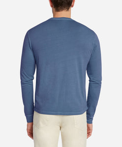 Long Sleeve Tee - Blue Agave