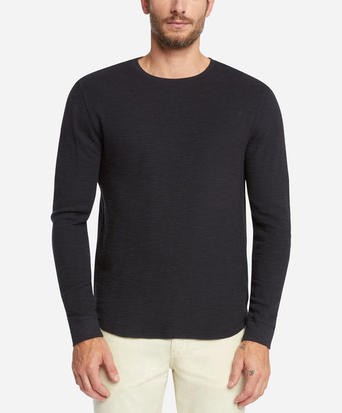 Long Sleeve Thermal Tee - Black