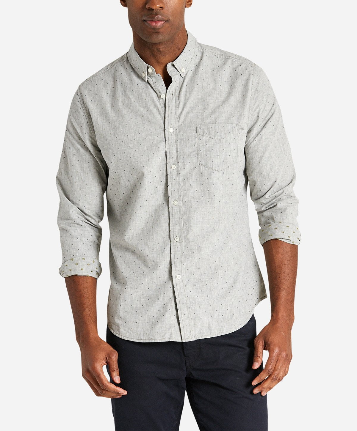 Larchmont Shirt - Heather Grey