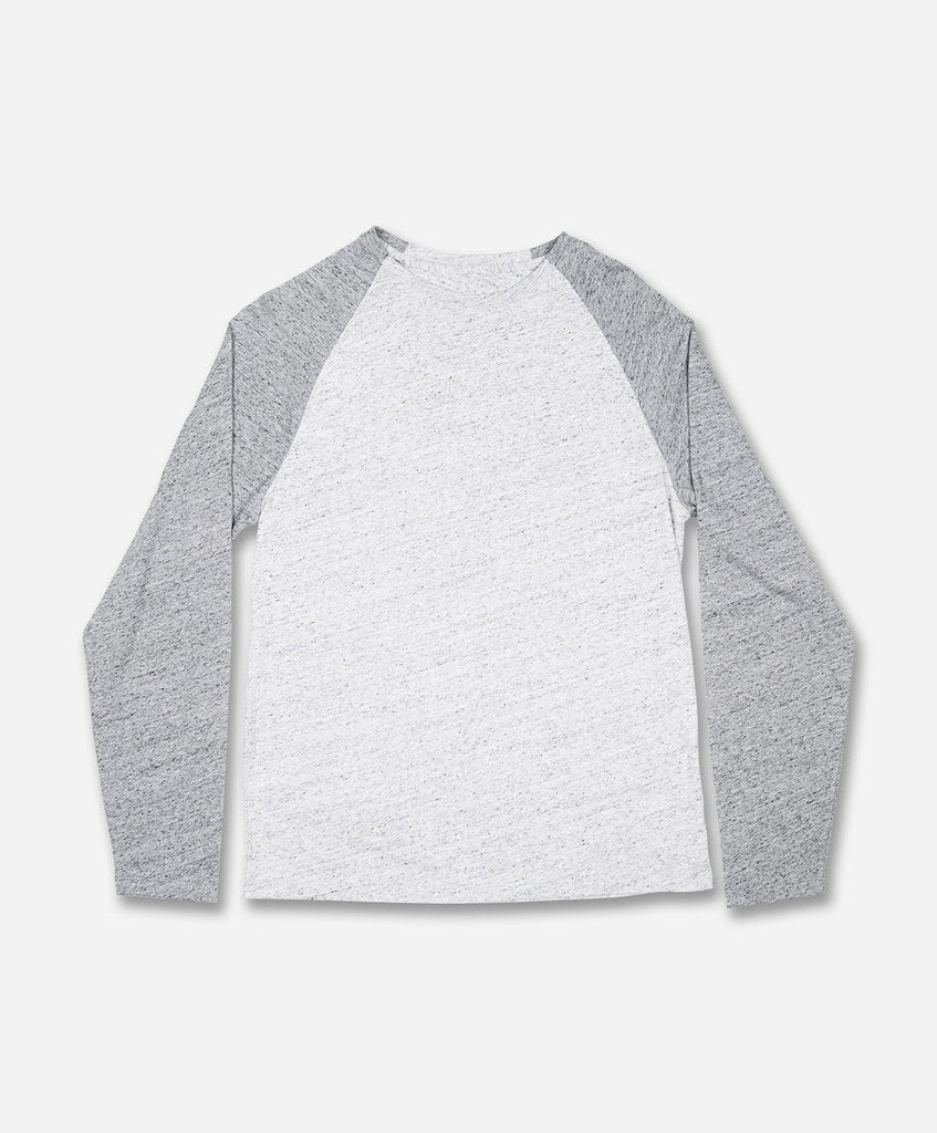 League Tee - Heather Light Grey