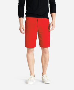 Linen Maldives Short - Racing Red