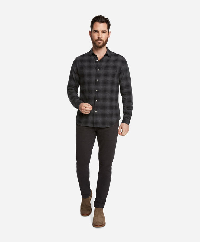 Lumberjack Flannel Shirt - Black