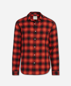 Lumberjack Flannel Shirt - Red Leaf