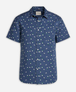 Short Sleeve Matador Shirt - Ocean Blue