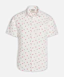 Short Sleeve Matador Shirt - White
