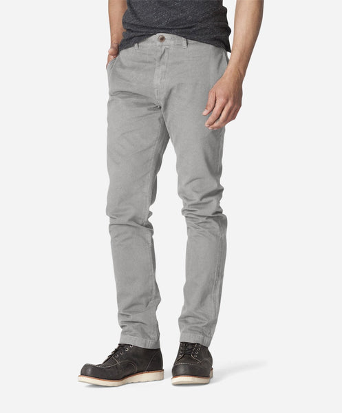 Modern Fit Chino - Light Grey