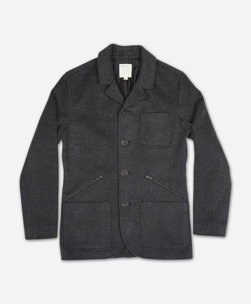 Modern Riding Coat - Heather Charcoal
