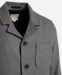 Modern Riding Coat - Heather Grey