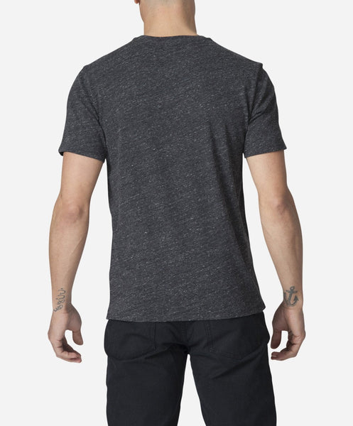 Modern V-neck - Heather Black