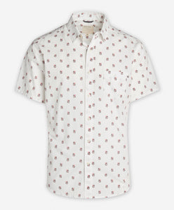 Short Sleeve Mojito Shirt - White