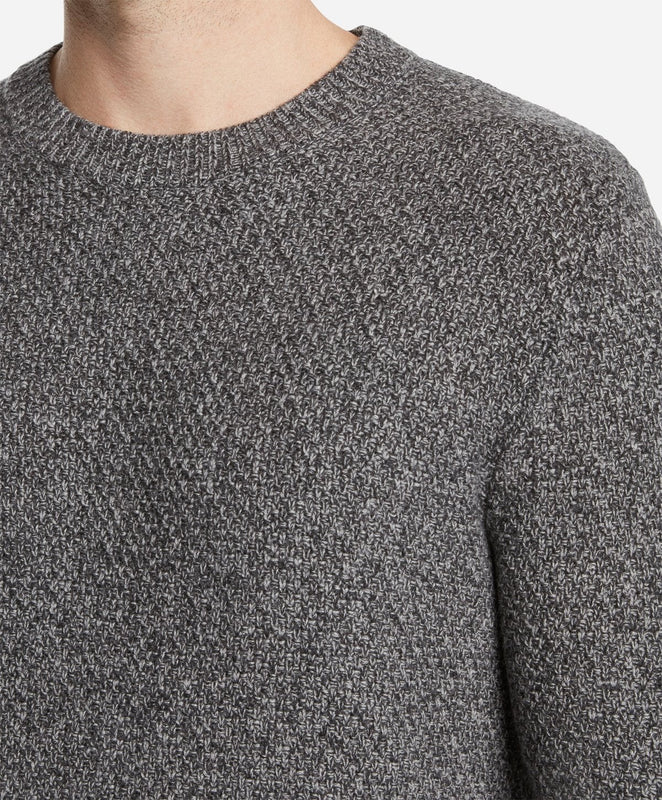 Montreal Wool Crew Sweater - Heather Grey