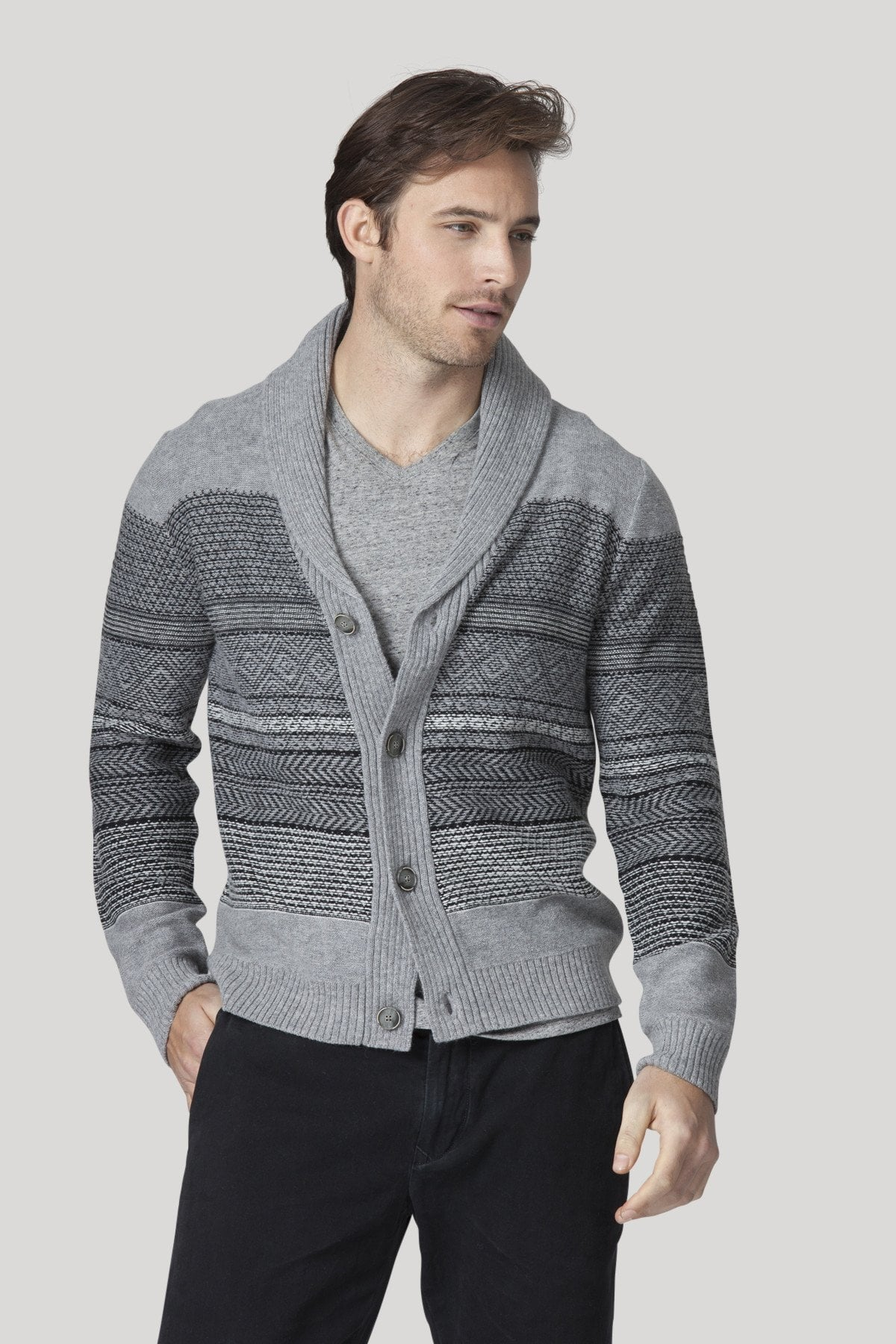 Netherland Cardigan - Heather Grey