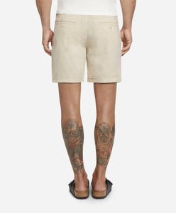 Newcastle Linen Short - Birch