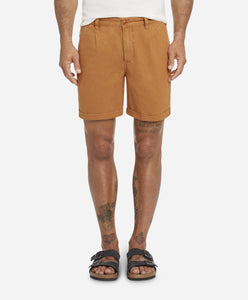 Newcastle Linen Short - Coppertone