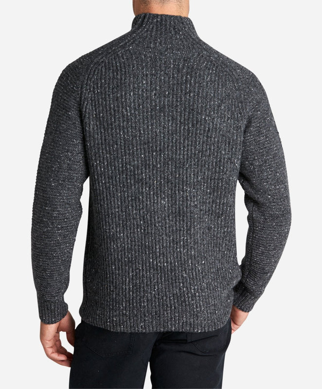 Ninja Turtle Neck - Heather Charcoal