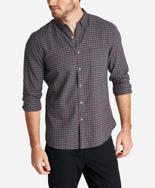 Nitty Griddy Shirt - Heather Charcoal