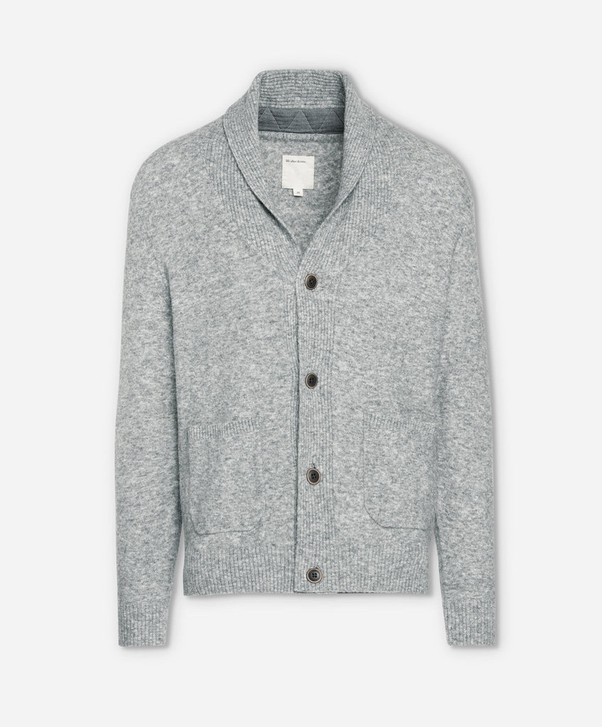 Oak Park Cardigan - Heather Grey