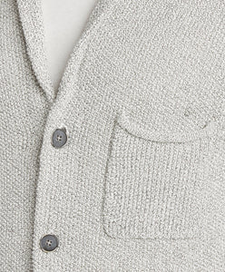 Oz Cardigan - White Marl