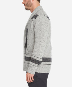 Phoenix Cardigan Sweater - Heather Grey
