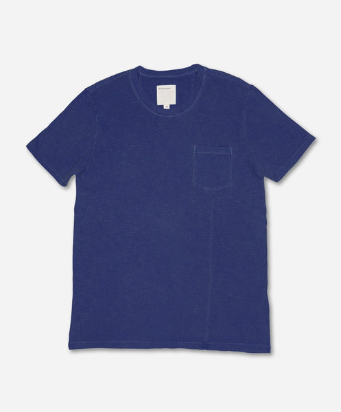 Pocket Tee - Blue Marine