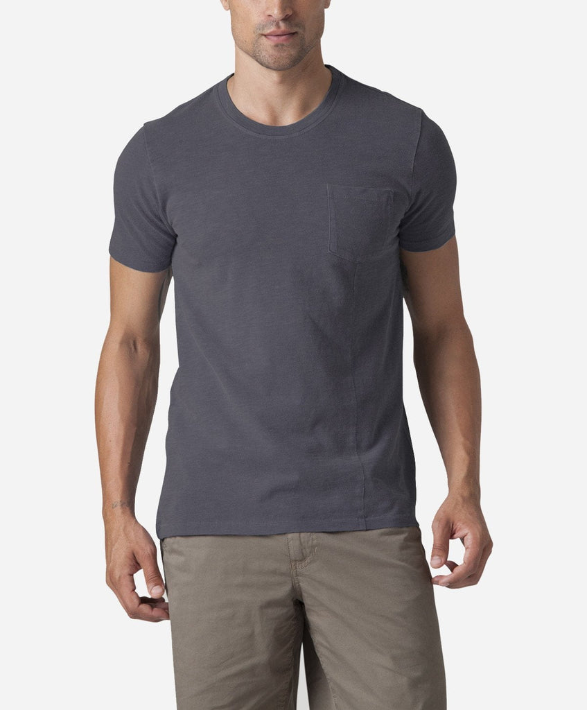 Short Sleeve Pocket Tee - Smog