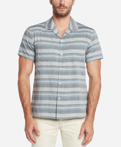 Short Sleeve Poncho Shirt - Blue Agave