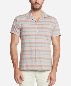 Short Sleeve Poncho Shirt - Terra Cotta