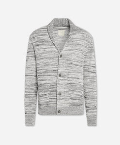 Quebec Cardigan Sweater - Light Heather Grey