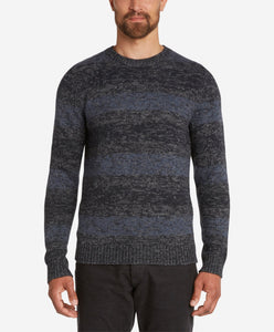 River Wool Crew Sweater  -  Navy