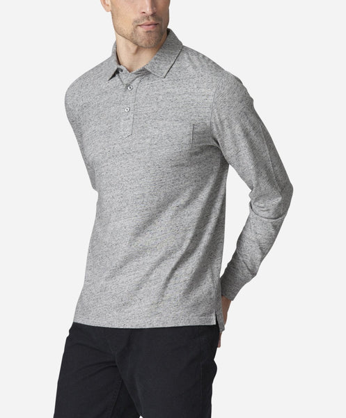 Rugby Shirt - Heather Grey