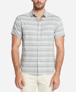 Short Sleeve Acapulco Stripe Shirt - Heather Grey