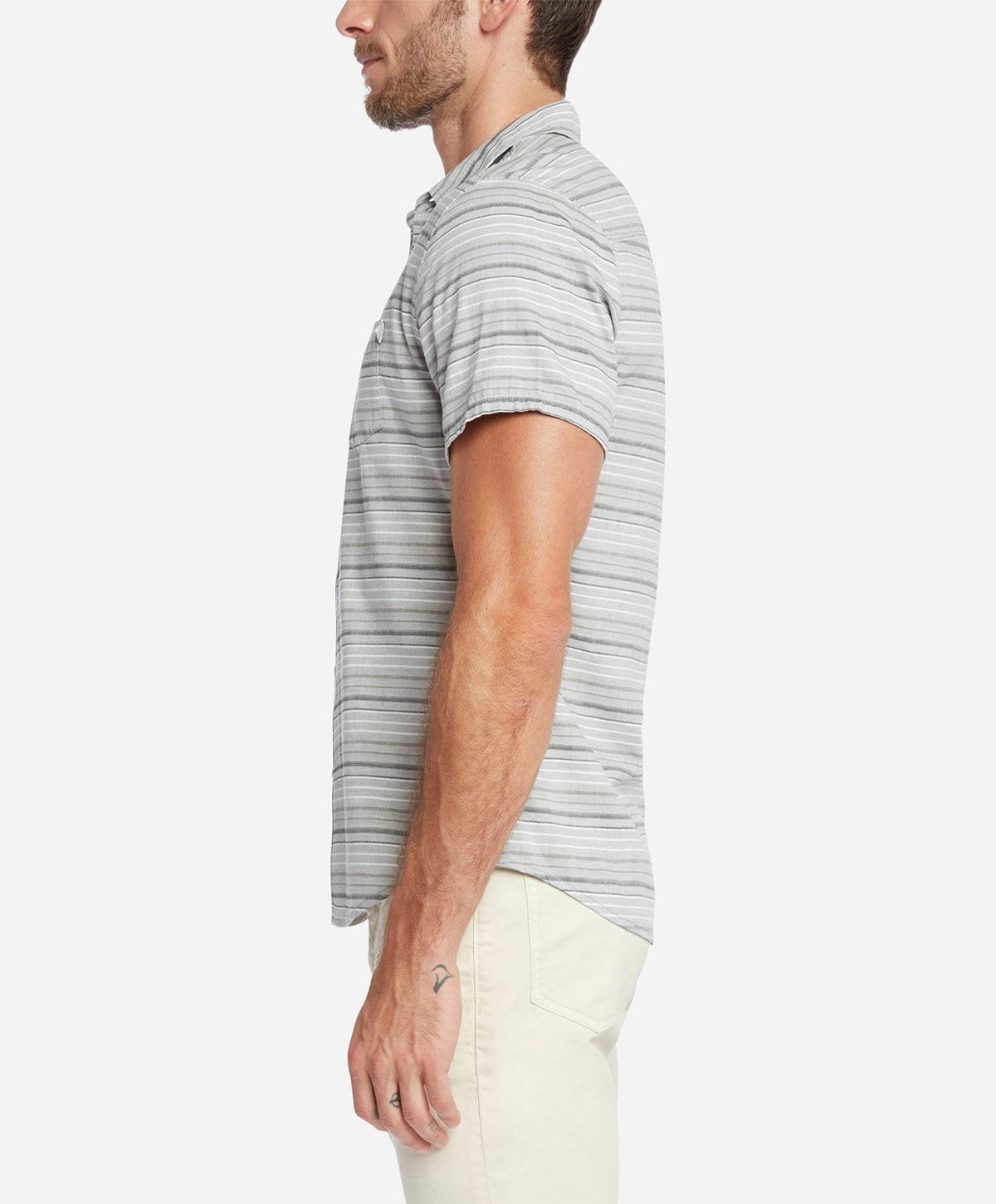 Acapulco Short Sleeve Shirt - Heather Grey