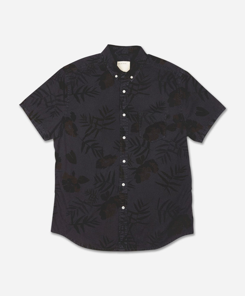 Botanical Short Sleeve Shirt - Smog
