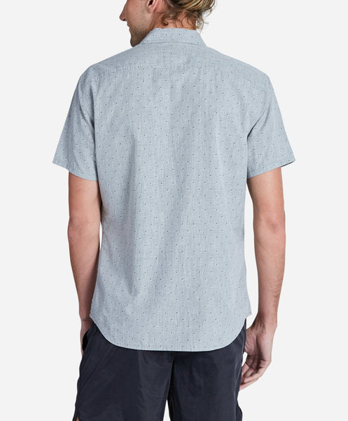 Clippers Short Sleeve Shirt - Heather Grey
