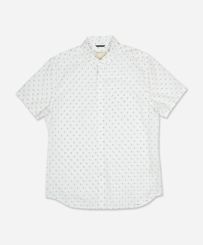 Short Sleeve Clippers Shirt - White