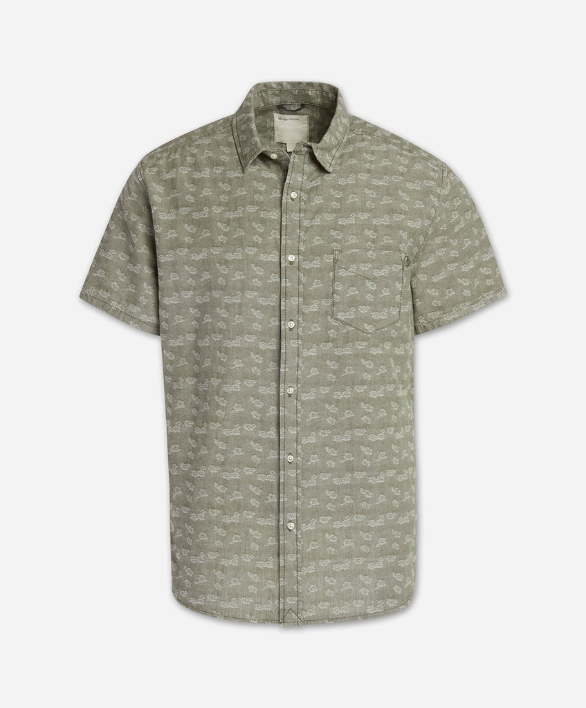 Dahila Short Sleeve Shirt - Olive