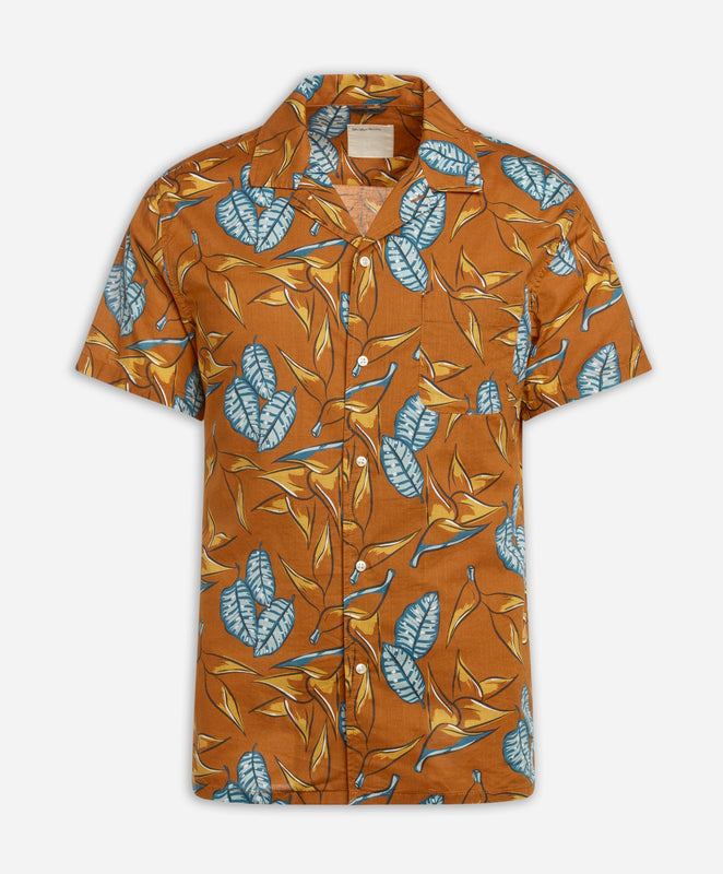 Short Sleeve Daintree Shirt - Coppertone