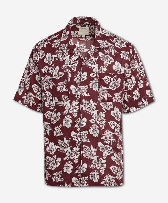 Short Sleeve Honolulu Shirt - Kona Berry