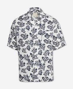 Short Sleeve Honolulu Shirt - White